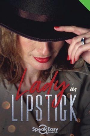 English Book Lady in Lipstick