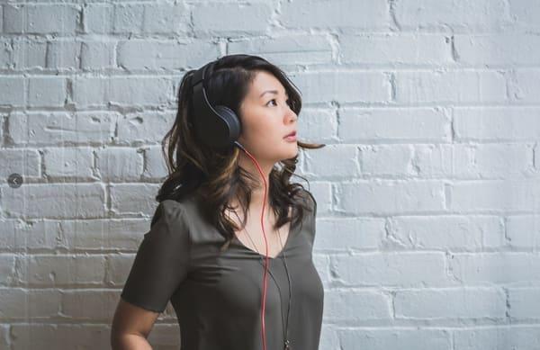 Girl English Listening Skills