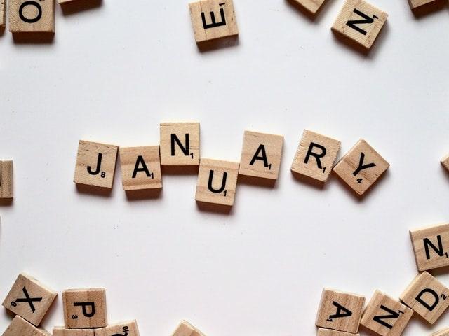 January blocks