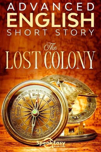 English Book The Lost Colony